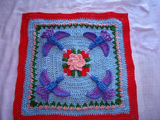 HUMMINGBIRD SQUARE PATTERN                                                                                                                                                                                 More