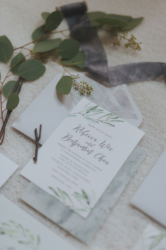 sending wedding invitations months before%0A Handwritten wedding invitation ideas   An Elegant And Earthy Wedding Styled  Shoot   http