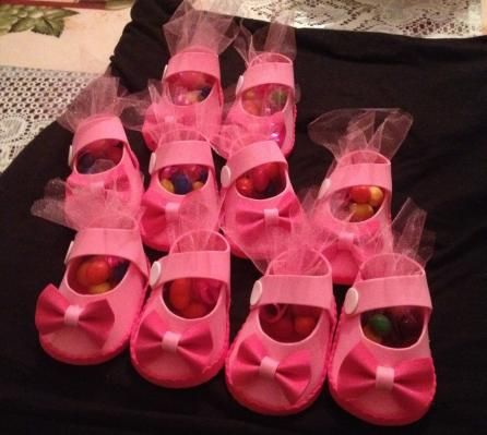 Baby Shower Favors - I'm so making these for the next baby shower and it's a girl!