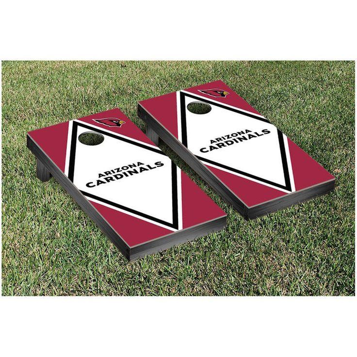 "Arizona Cardinals 24"" x 48"" Diamond Cornhole Game Set"