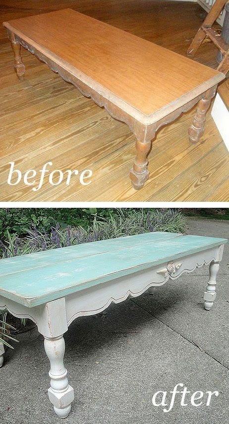 Trashy Coffee Table Finds Her Beautiful Beachy Self    http://www.prettyhandygirl.com/2010/09/trashy-coffee-table-finds-her-beautiful.html#
