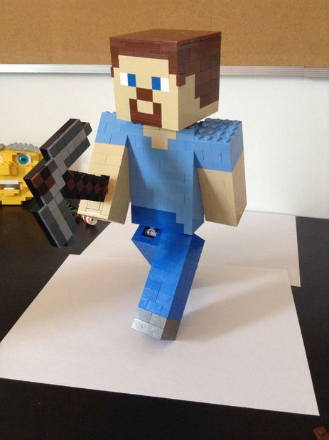 Lego Minecraft Steve Instructable