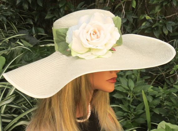 Wide Brim Hat. Kentucky Derby Hat. Formal Hat Ascot by AwardDesign
