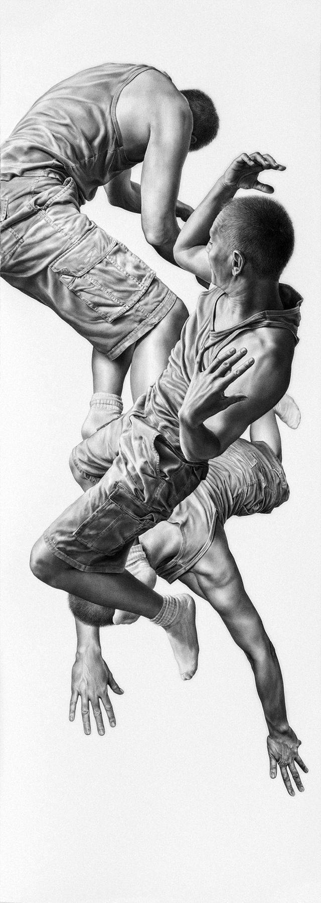 Leah Yerpe – Hyperrealistic Charcoal and Graphite Drawings (12 Pictures) > Design und so, Illustrationen, Paintings > artworks, brooklyn, drawings,… | Pencil a…
