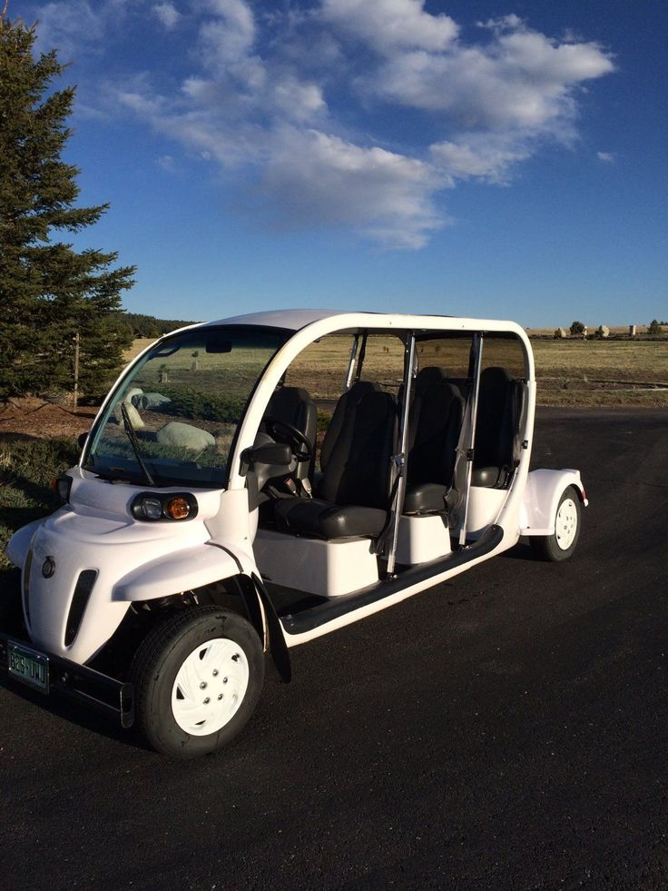 2007 GEM E6 Six Passenger Electric Golf Cart   Great Condition