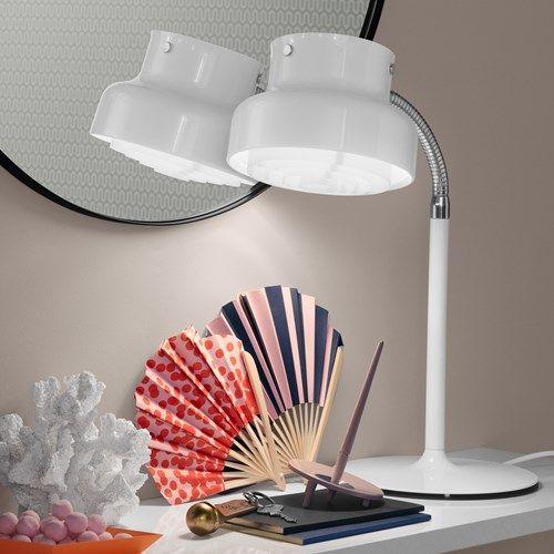 Bumling Mini bordslampa - Bumling Mini bordslampa - vit