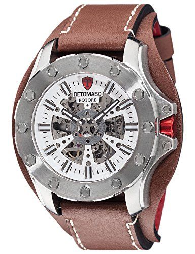 DeTomaso DT2061-B Men's Watch Rotore Silver / Brown, Anal... https://www.amazon.co.uk/dp/B01CJFOICO/ref=cm_sw_r_pi_dp_U_x_0.NLAbXT6ZAQN