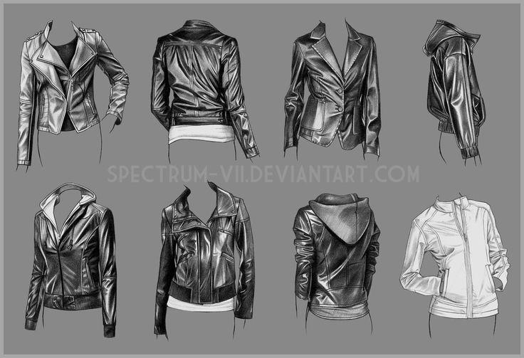A study in women's jackets by Spectrum-VII.deviantart.com on @DeviantArt