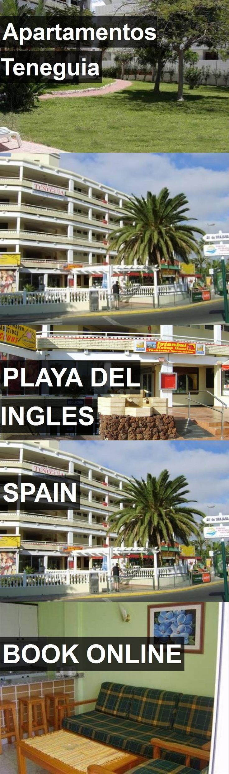 Hotel Apartamentos Teneguia in Playa del Ingles, Spain. For more information, photos, reviews and best prices please follow the link. #Spain #PlayadelIngles #travel #vacation #hotel