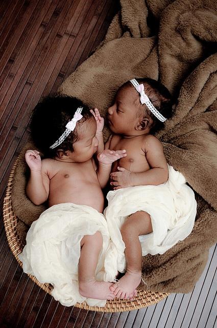 Awwww. Twins.