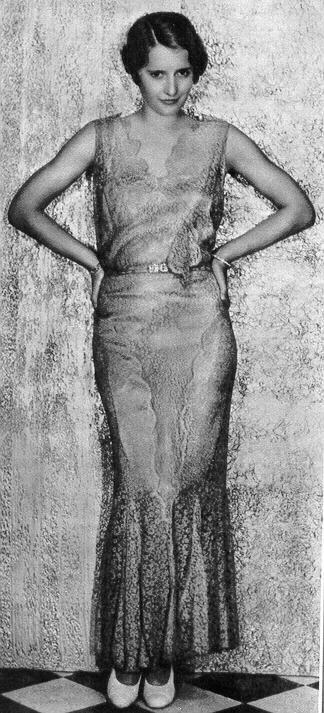 Barbara Stanwyck, Ladies of Leisure, 1930 (costume by Edward Stevenson)
