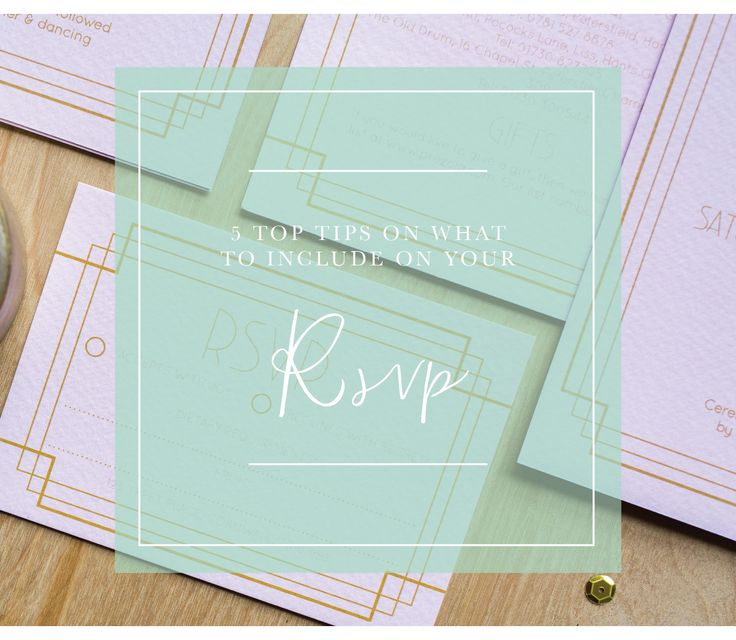 5 top tips on what wording and information to include on your wedding RSVP by Sincerely May | Modern Wedding Stationery for style conscious couples