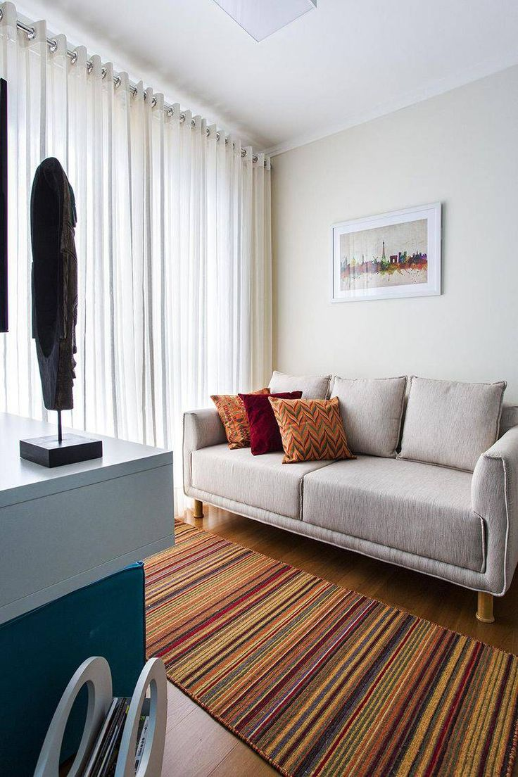 Mejores 127 Im Genes De Decora O De Apartamentos Pequenos En Pinterest -> Sala De Estar Decorada Para Apartamento Pequeno