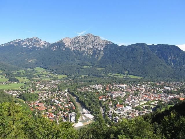 The hills do come alive in Bad Reichenhall, Bavaria