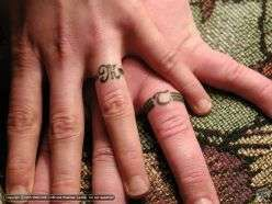 The 25+ best Wedding ring tattoos ideas on Pinterest | Wedding ...