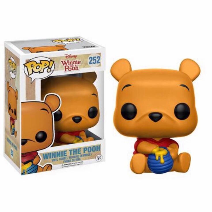 Winnie The Pooh (Sitting) Funko Pop Vinyl figure from Disney classic Winnie the Pooh Brought to you by Pop In A Box, the site Funko Pop! Vinyl shop