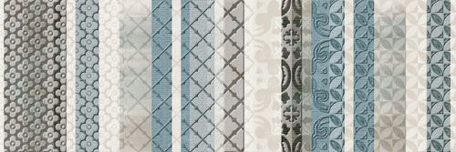 Vitrail Turquesa 25x75 cm.  Wall tiles | Aquarelle series | Arcana tiles | arcana ceramica