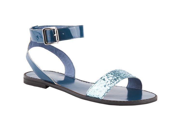 Overland Footwear – Isabella Anselmi – 'Carney' Blue Glitter and Black Glitter $149.90 nzd http://www.overlandfootwear.co.nz/carney-p-5678/colour/Blue%20Glitter#colour=Blue Glitter