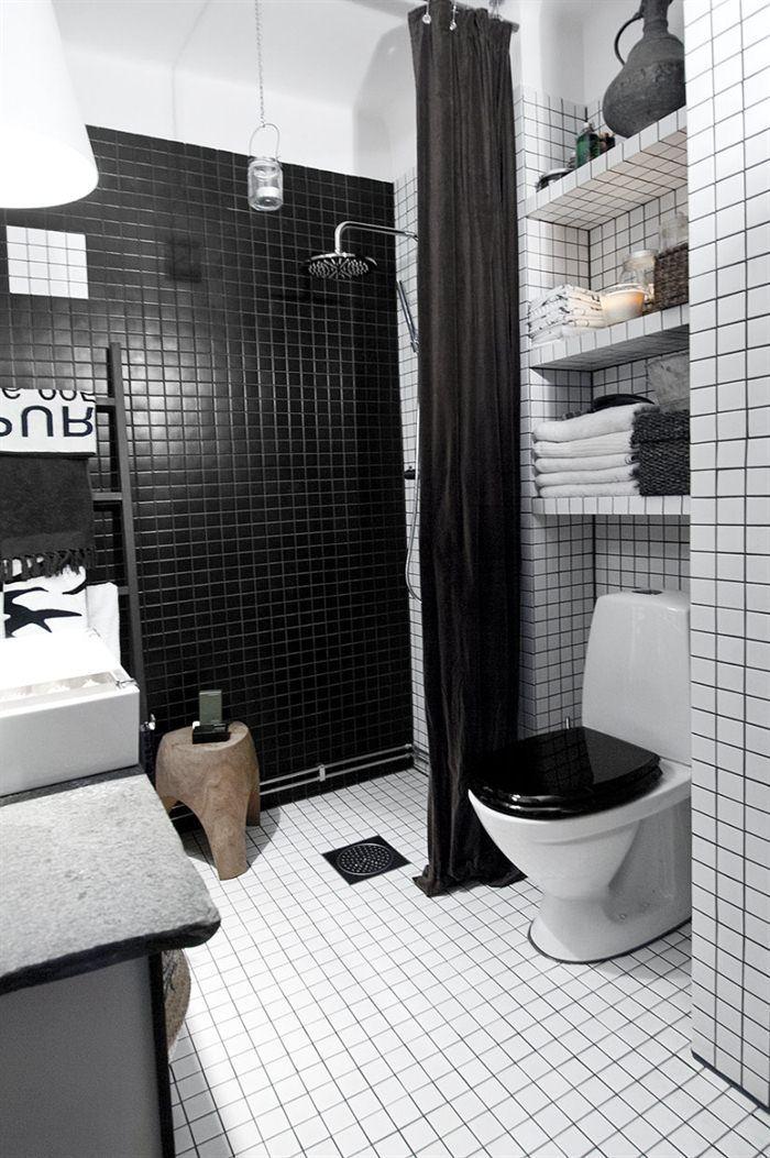 Die besten 25+ Blinds for bathrooms Ideen auf Pinterest - badezimmer schwarz weiß