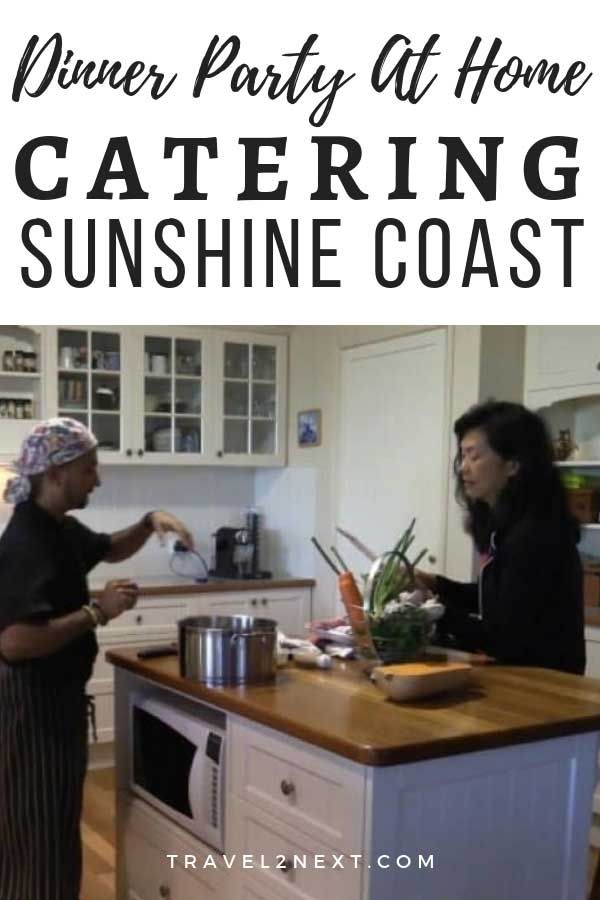 Catering Sunshine Coast Rent A Chef Rent A Chef Home Catering Host Dinner Party
