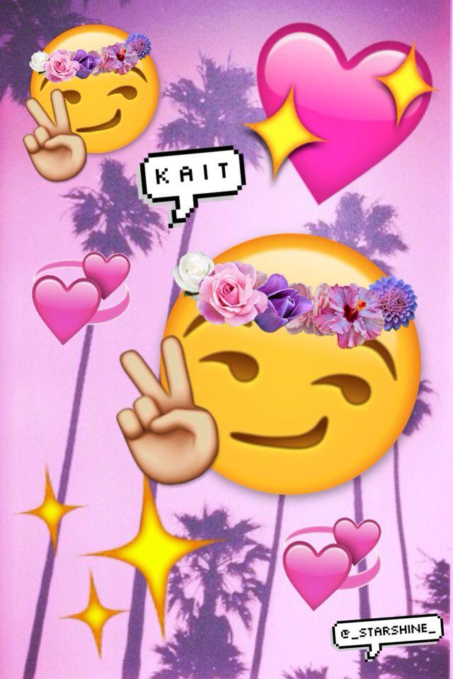 1000 Images About Emojis Collage On Pinterest Kiss Emoji