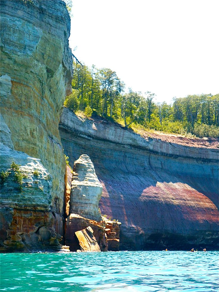 Munising Bluffs, Michigan