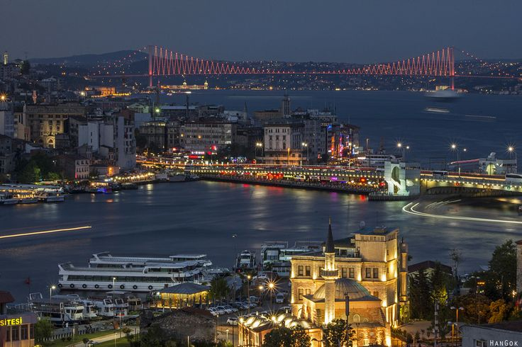 the blue Istanbul by han gok on 500px