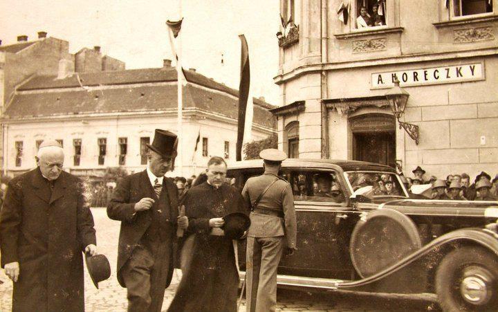 Pribinove slávnosti v Nitre 1933