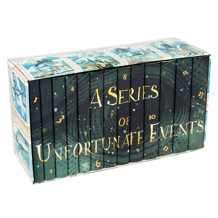 For the younger one on your list. Share one of the best book sets from your own childhood with them. Lemony Snicket's A Series of Unfortunate Events