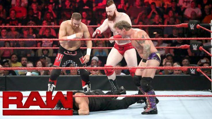 Roman Reigns vs. Sami Zayn vs. Sheamus vs. Chris Jericho: Raw July 25 2016