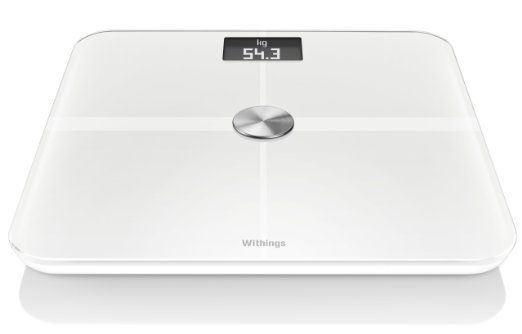 Scales: Open Box Withings Ws-50 Smart Body Analyzer, White Tg BUY IT NOW ONLY: $114.39