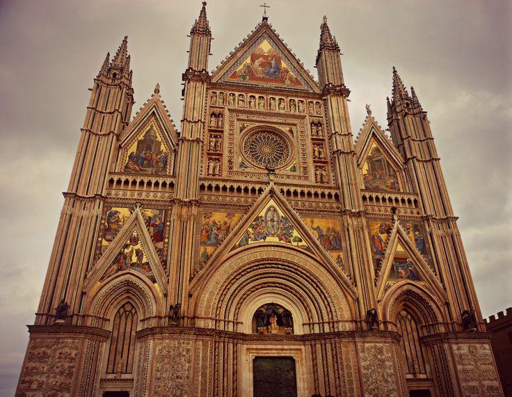 Duomo di Orvieto, facciata.