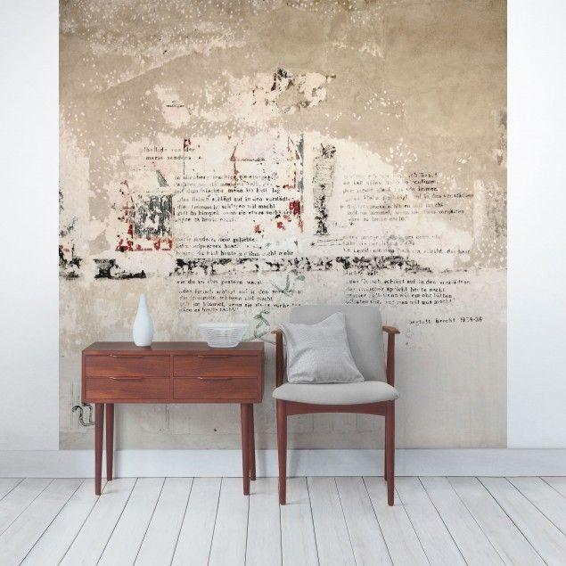 Die besten 25+ Tapete betonoptik Ideen auf Pinterest Tapeten - wandputz innen ideen