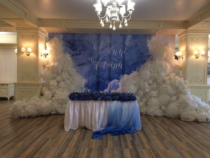 Декор столов гостей и президиума молодоженов. #гортензия #свадебныйдекор #свадьба #облака #wedding weddingideas #weddingflowers #bride #weddingdecor #weddingplanner