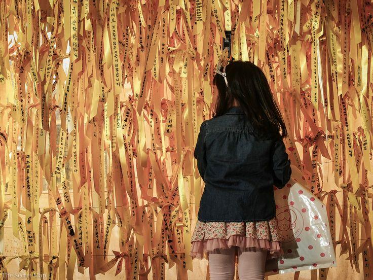 Sewol yellow ribbons in Seoul