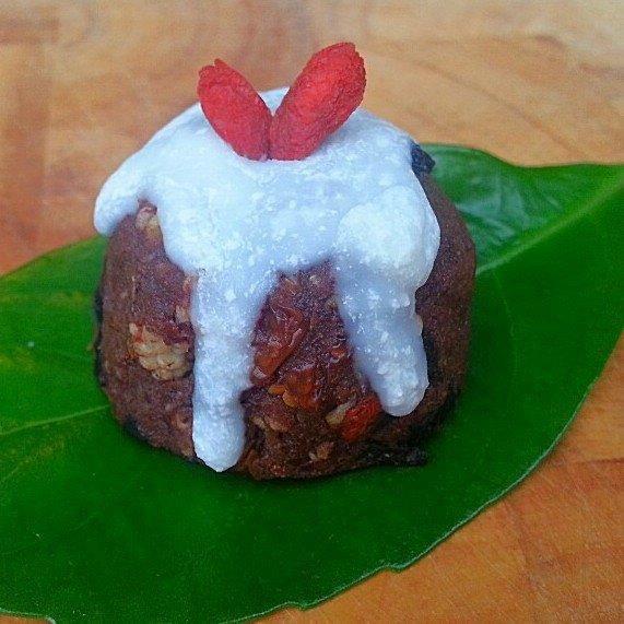 Raw Superfood Christmas Puddings. Raw. Vegan. Refined Sugar Free. Gluten Free. Grain Free.