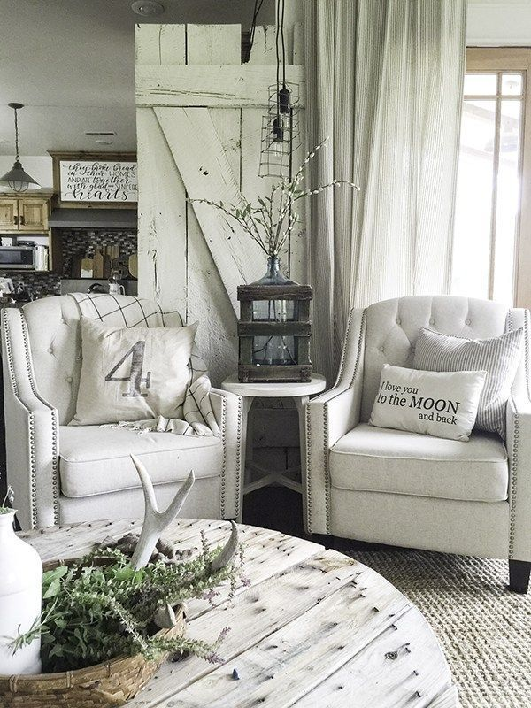 30 Distressed Rustic Living Room Design Ideas To Inspire: 1000+ Ideas About Shabby Chic Farmhouse On Pinterest