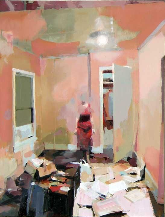 alex kanevsky: Oil Paintings, Modern Art, Art Paintings, Spare Rooms, Art Inspiration, Alex Kanevski, Pink Rooms, Colors Schemes, Alex O'Loughlin