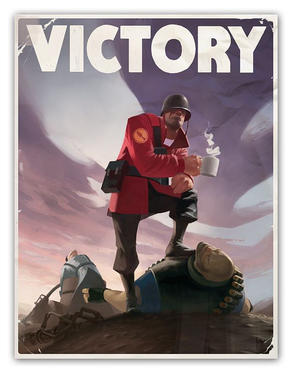 ThinkGeek :: Team Fortress 2 Poster Kit  ---I Already Bought this, because I love thinkgeek and TF2--nm