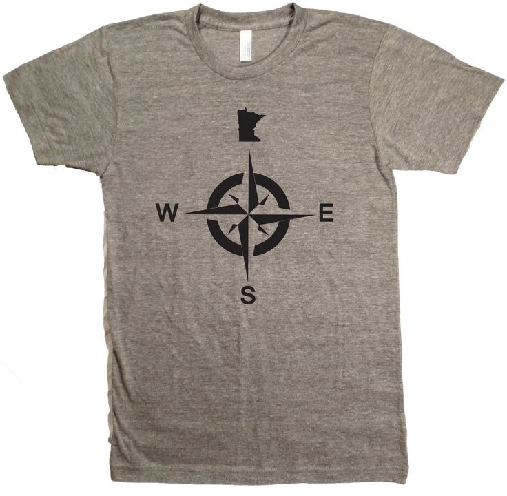 Minnesota North Compass T-Shirt