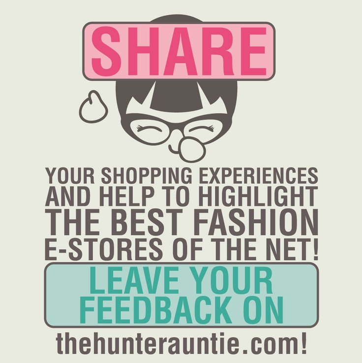 Help us to build the biggest community of E-shopping lovers...your opinion is important!