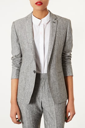 Top shop - Preppy Fleck Blazer