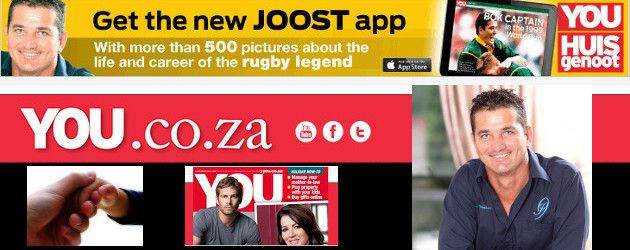 YOU app pays tribute to Joost van der Westhuizen now LIVE on WWW.intouchrugby.COM!