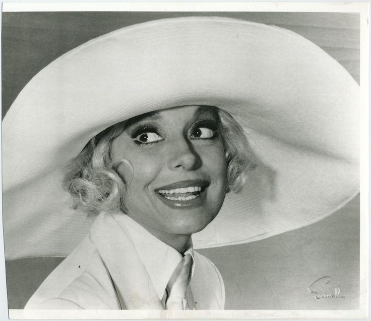 Carol Channing...gentlemen prefer blondes