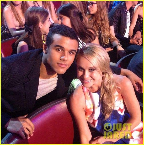 Jacob Artist & Becca Tobin at the 2013 Teen Choice Awards