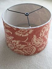 Pottery Barn Alessandra Floral Drum Lamp Shade