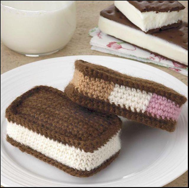 Tasty Crochet - 33 faux food amigurimi play foods crochet patterns  https://babytoboomer.com/2016/11/05/food-amigurumi/ #crochetpattern #crochet #patterns