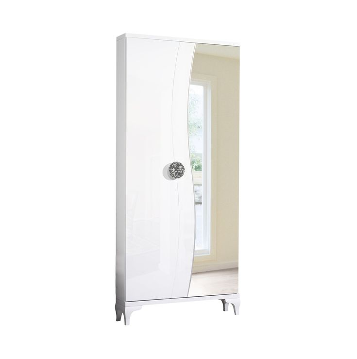 Las 25 mejores ideas sobre puertas de armario con espejos for Zapatero esquinero