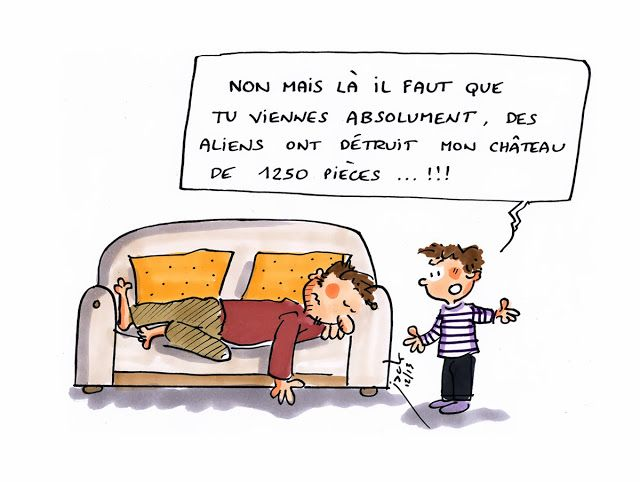 danger école dessins comique français.