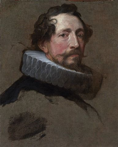 Anthony van Dyck A Study for the Head of a Magistrate of Brussels